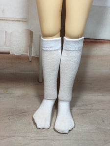"18"" BJD Solid Color Knee Socks"