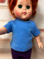 "8"" Ginny/MA Wendy Solid Color Short Sleeve T-shirt"
