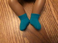 "12"" Baby Sasha Solid Color Ankle Socks"