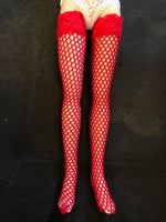 "18"" Kitty Thigh High Hose"