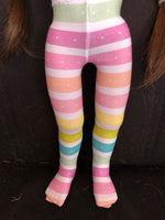 "Valentine Tights for 16"" A Girl for All Time"
