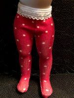 "VALENTINE Tights for 7"" Kish Riley"
