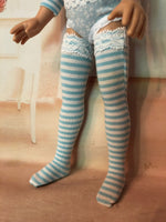 "14"" Tonner Betsy McCall Print Thigh high tall socks"