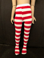 "Christmas Tights for 14.5""  Ruby Red Galleria Fashion Friends dolls"