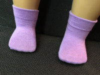 "18"" American Girl Solid Color Ankle Socks"