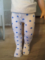 "10"" Patsy / Ann Estelle Print Tights"