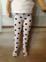 "13"" Effner Little Darling Print Tights"
