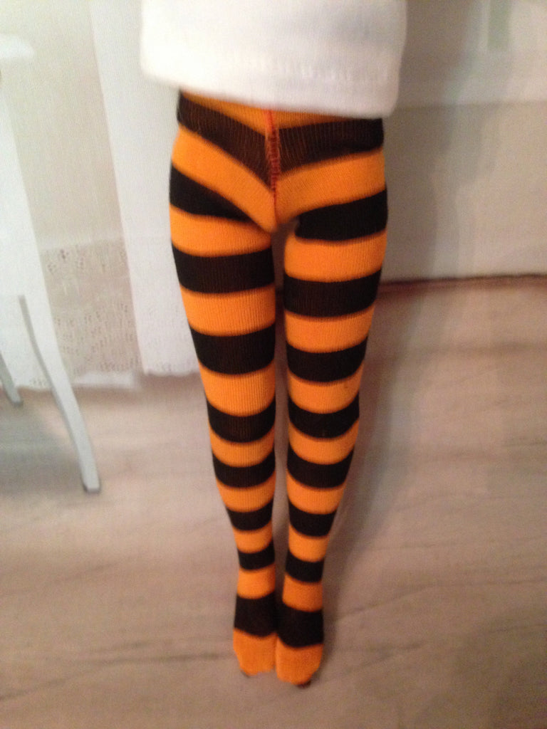 "14"" Patience or 12"" Marley Halloween Tights"