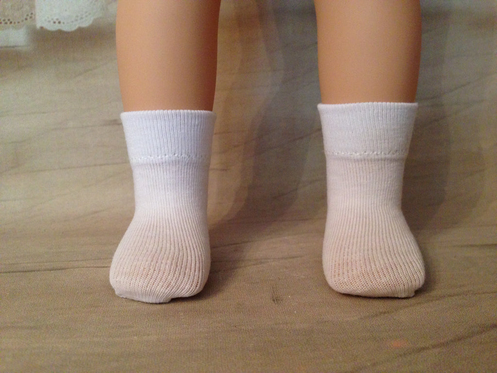 "14"" Wellie Wishers Solid Color Ankle Socks"