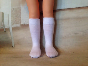 "13"" Corolle Les Cheries Knee Socks"