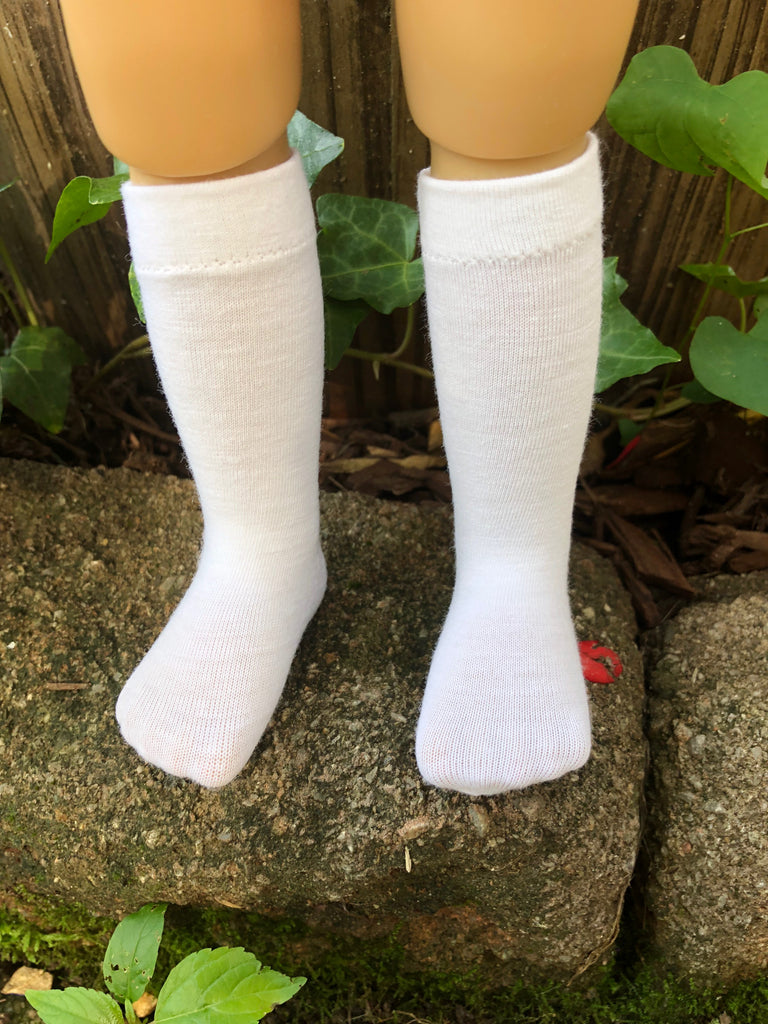 "18"" Kidz n Cats Solid Color Knee Socks"