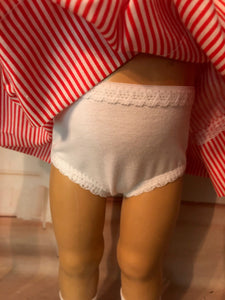 "White Undies for 19"" Vintage Chatty Cathy"