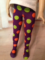 "Halloween Tights for 13"" Effner Little Darling"