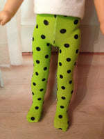 "14"" Wellie Wishers Halloween Tights"