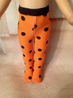 "10"" Patsy or Ann Estelle Halloween Tights"