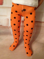 "16"" A Girl for All Time Halloween Tights"