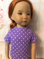 "13"" Effner Little Darling Print Short Sleeve T-shirt"