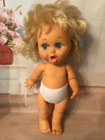 "White undies for 13"" Galoob Baby Face Doll"