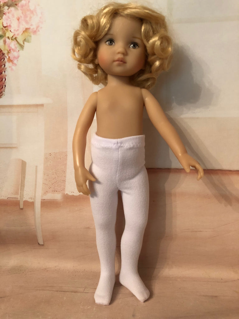 "10"" Boneka Effner Solid Color Tights"