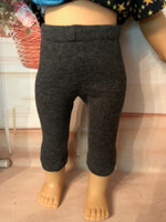 "18"" American Girl Solid Color Capris"