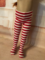 "Christmas Tights for 13"" Effner Little Darling"