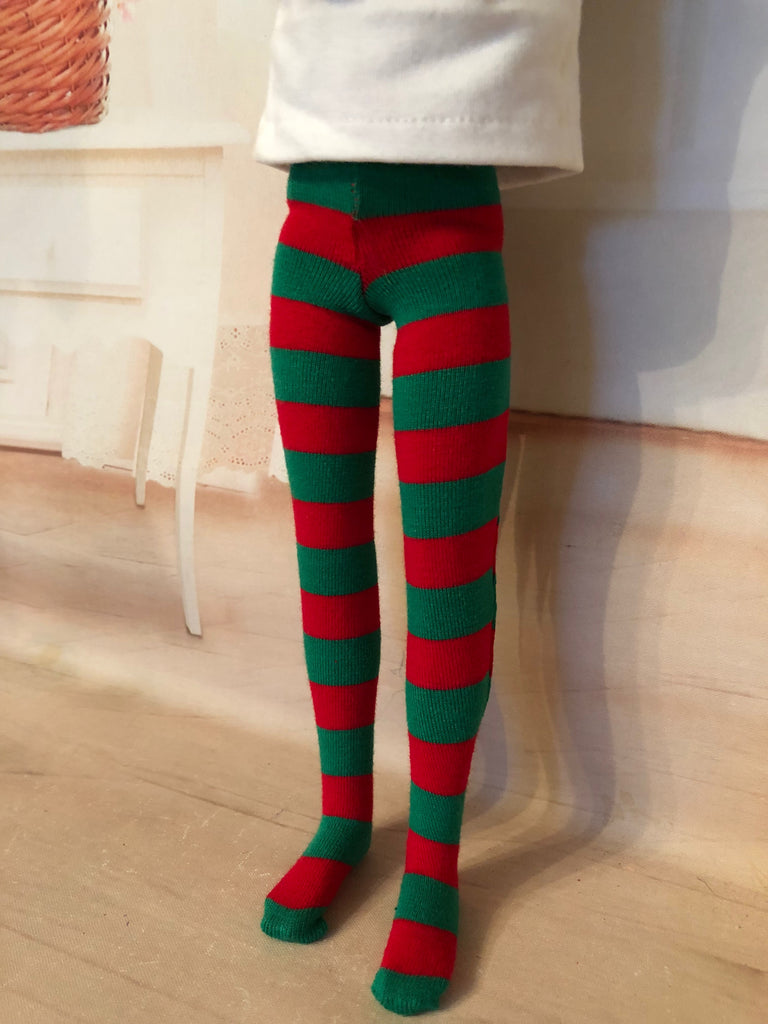 "12"" Marley Christmas Tights"