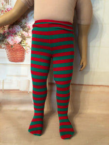 "23"" My Twinn Christmas Tights"