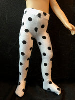 "10"" Effner Boneka Child Print Tights"