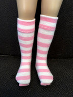 "13"" Effner Little Darling Print Knee Socks"