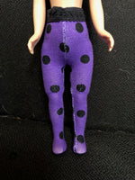 "8"" Tiny Betsy or Patsyette Halloween Tights"
