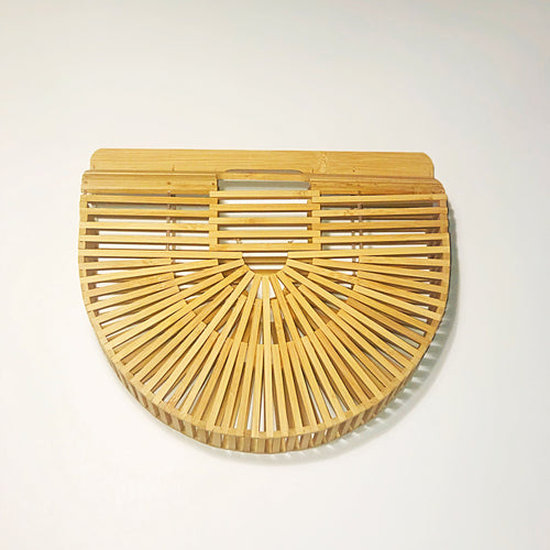 Balinese Bamboo Mini Clutch