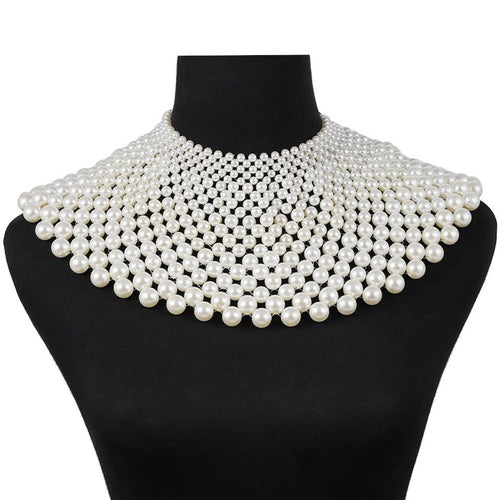 A Thousand Pearls Necklace