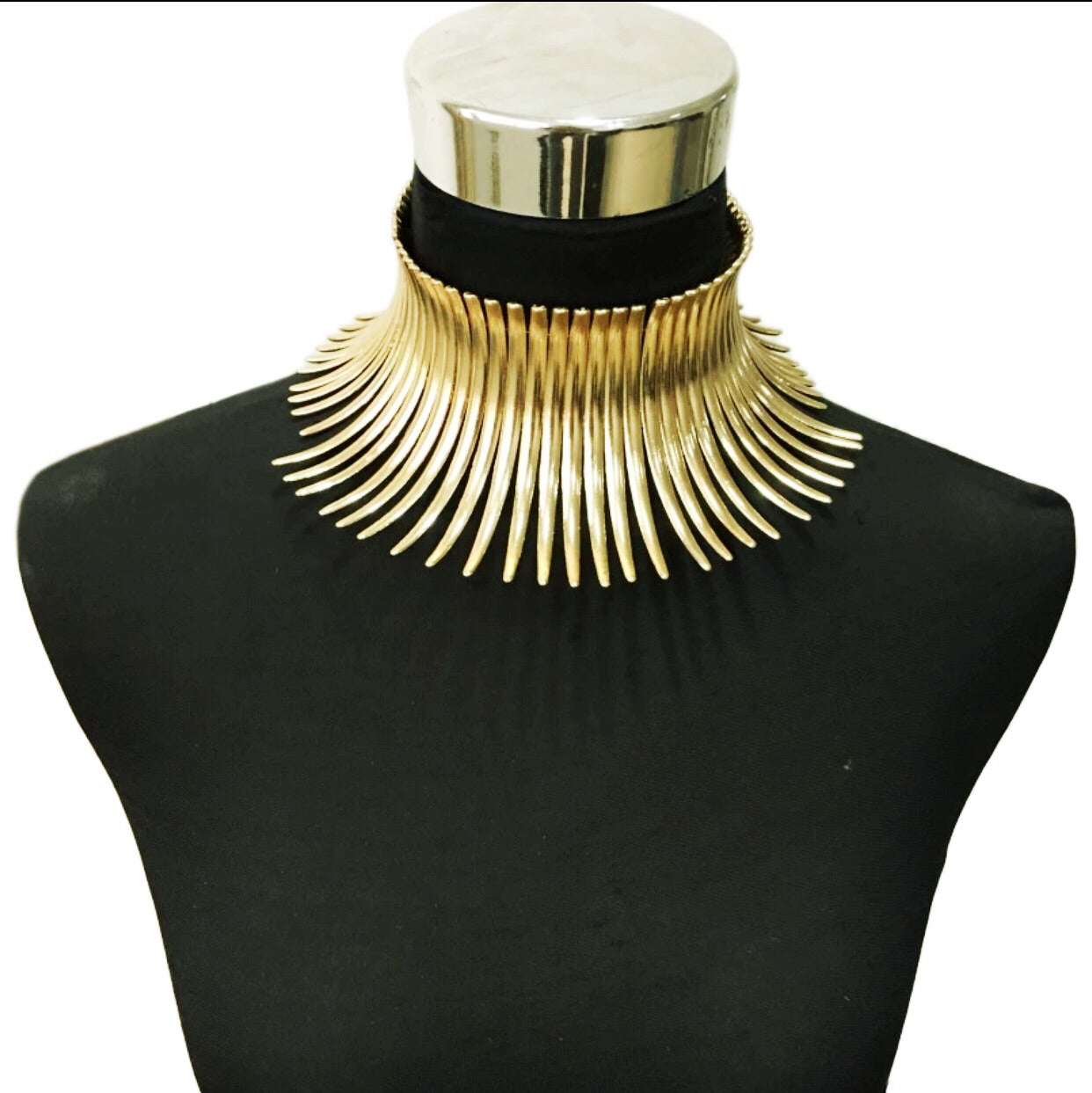 Egyptian Spike Necklace