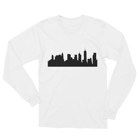 Unisex Skyline Long Sleeve T-Shirt