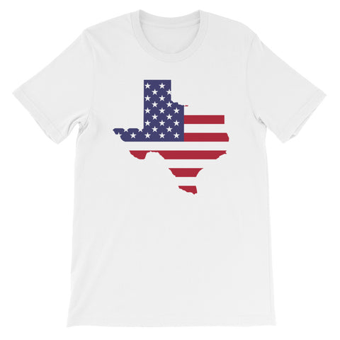 Short-Sleeve Unisex Texas Strong T-Shirt