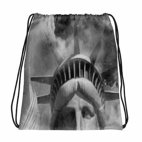 Liberty and Freedom Drawstring bag