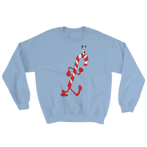 Walking Candycane Sweatshirt