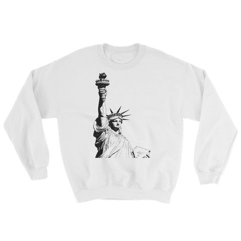 Antique Statue of Liberty Sweatshirt