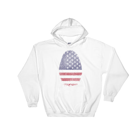 USA DNA Hooded Sweatshirt With Front Pocket