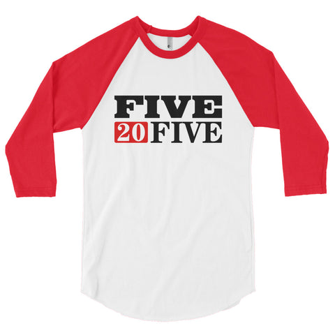 Five20Five Company 3/4 sleeve raglan shirt