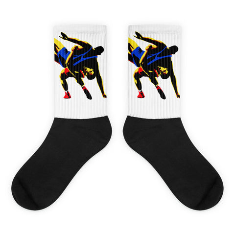 Wrestling Socks