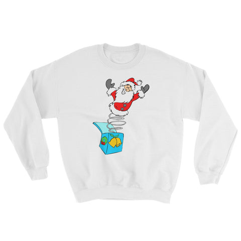 Santa-in-the-box Sweatshirt