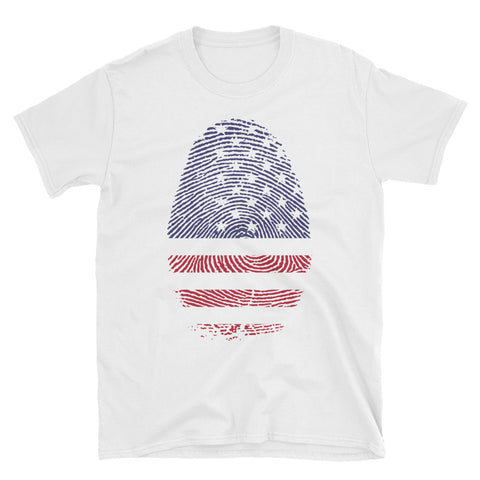 Heavier Short-Sleeve USA DNA Unisex T-Shirt
