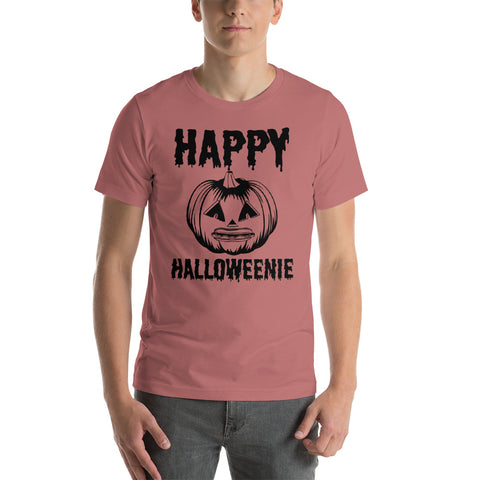 Happy Halloweenie Short-Sleeve Unisex T-Shirt