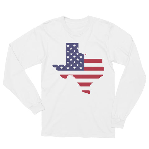 Unisex Long Sleeve Texas Strong T-Shirt