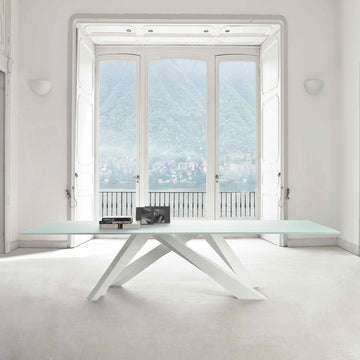 Bonaldo Big Table All White, made in Italy