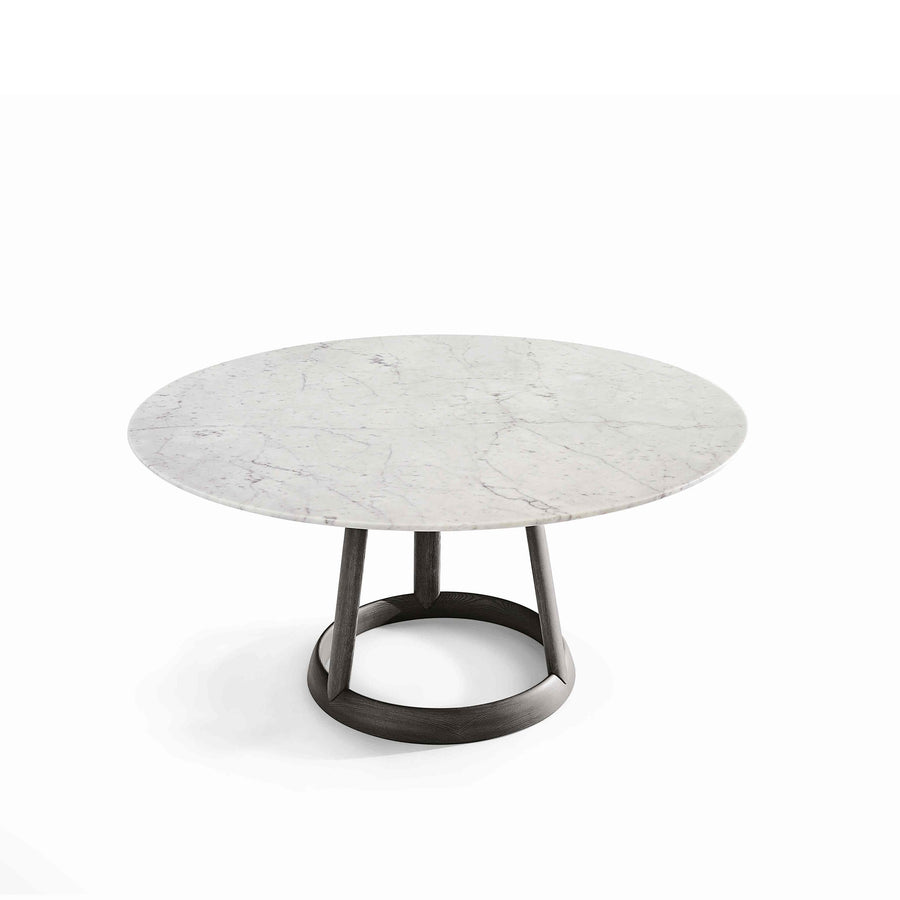Bonaldo Greeny Round Table with marble Top - made in Italy