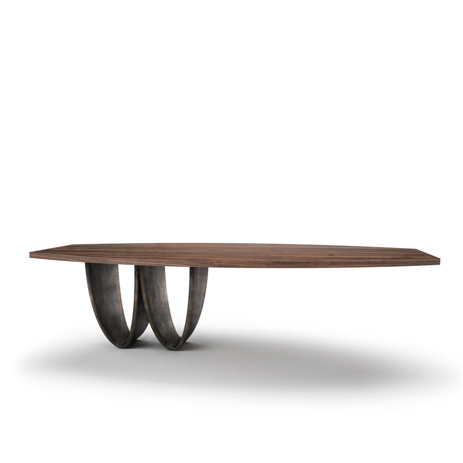 Bowi Table in Solid Wood