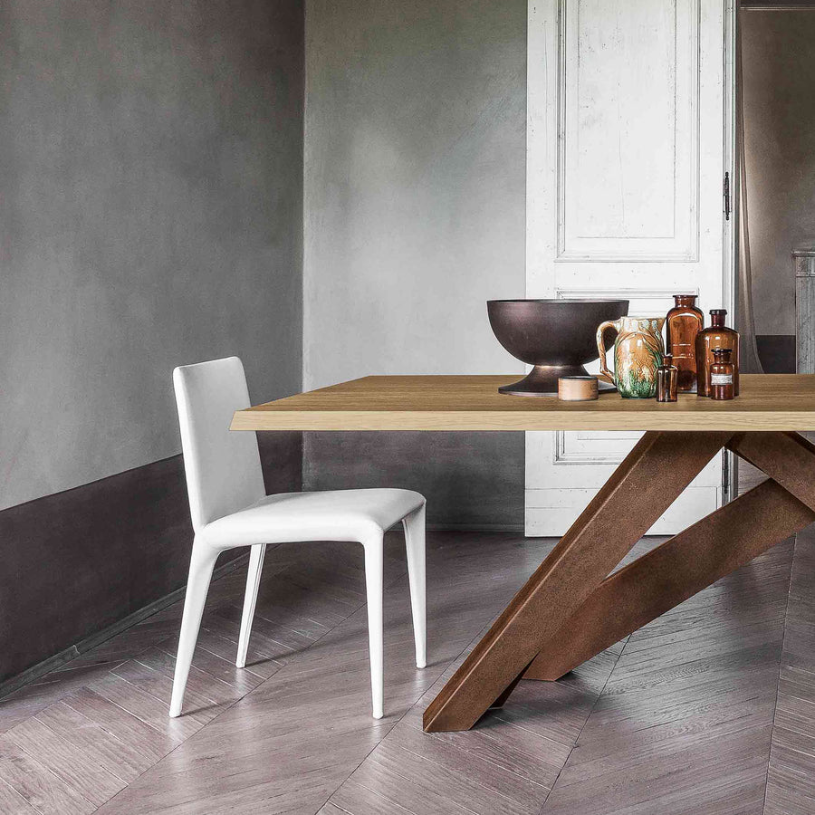 Bonaldo Big Table, ambient detail, made in Italy