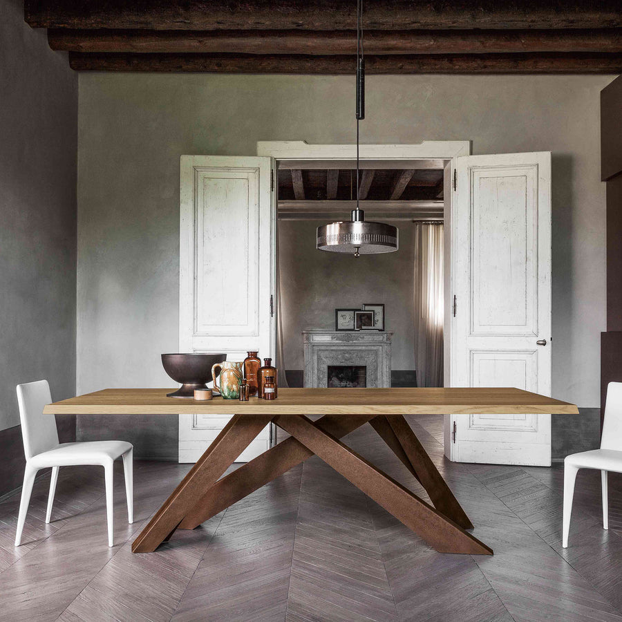 Bonaldo Big Table, ambient 3, made in Italy